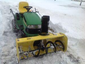 Lawnmower Snow Blower Combo