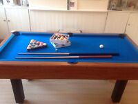 Pool table/dart board