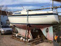 Atlanta 25 sailing yacht