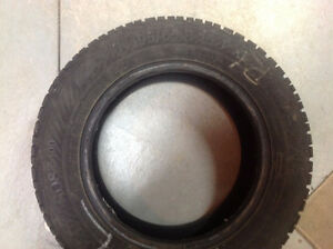 195 65R 15 Gislaved - 4 Winter Tires No Rims West Island Greater Montréal image 1