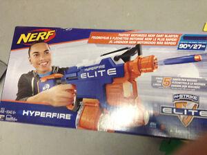 Nerf Hyper-Fire Elite Peterborough Peterborough Area image 1