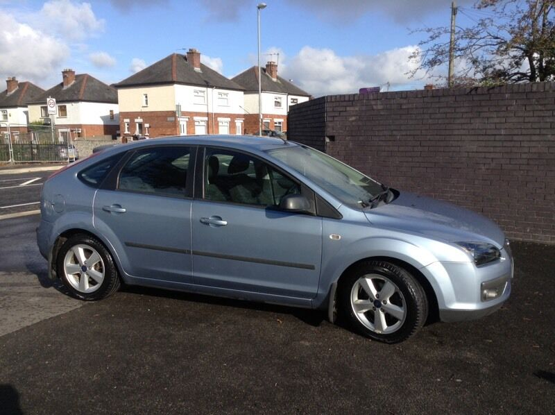 Ford Focus Zetec Climate 2006 Light Blue Low Miles In Castlereagh Belfast Gumtree