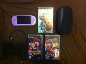 Psp and 3 games works great 80$ firm