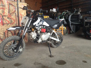 Great condition! Super cool Pitster Pro 110cc bike