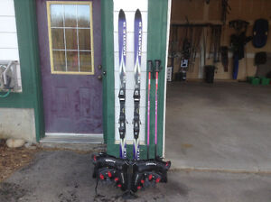 Nordica Ski Boots, Skis and Poles
