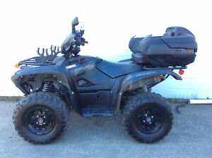 2016 Yamaha Grizzly 700-power-steering special edition. Low Hou