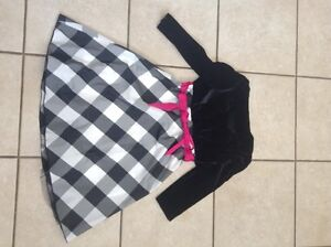 size 10 girls special occasion dress black and white Gatineau Ottawa / Gatineau Area image 2