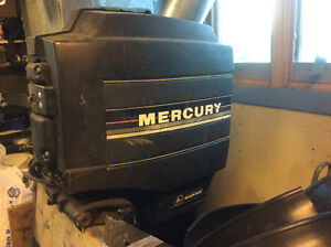 200 hp Mercury blackmax ,for parts or repair
