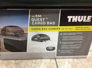 Brand new never opened. Thule quest cargo bag carrier 13 cu feet