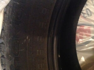 4. Winter Tires Nokian -225/65R/17