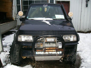 Custom Built 4x4 Bumper and 8000 lb Winch(very solid,well built) Kawartha Lakes Peterborough Area image 6