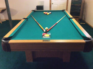Pool Table c/w accesories
