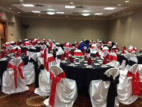 Chair Cover and Table Cloth Rental