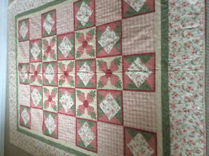 Beautiful Hand Appliqued Quilt