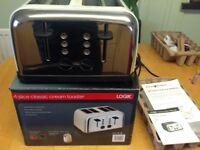Logic 4 slice toaster