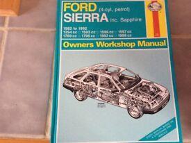 Ford Sierra (4-cyl, petrol) Haynes manual