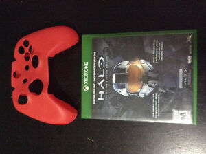 Xbox one game and controller cover for sale or trade