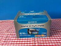Sony DCR-DVD203E PAL DVD Handycam Camcorder 12x Optical Zoom Boxed