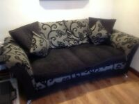 3+2 seater settee MUST GO BY WEEKEND