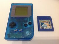 Original Nintendo GameBoy DMG-01 Inc. Pokemon Blue