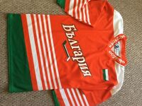 Ice hockey jersey Bulgarian team