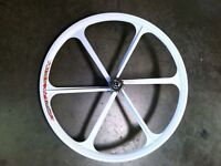 Mag Alloy Fixed Gear/ Single Speed 28Inch Rear Wheel Tyre Included