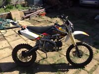 125 pit bike with v5