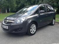 Vauxhall Zafira 1.7CDTi 16v ecoFLEX 7 Seater 2012.5MY Design NAV Good Family Car