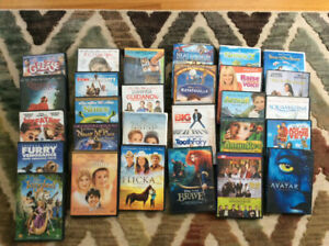Pre owned DVD's