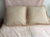2 Large Bed Cushions - by Dorma