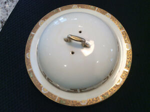 Hand Painted Nippon Dome Covered Plate
