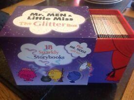 Mr Men & Little Miss The Glitter Box Collection books