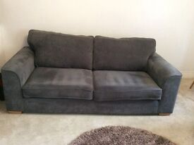 Large 3 Seater Modern Sofa