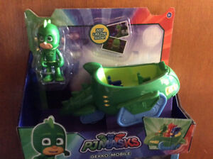 Pj masks gecko mobile toy, with Gekko