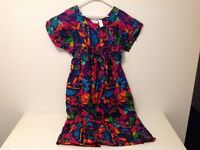 Dress - flower pattern, see photos, 1-size. (NC47)