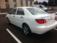 2004 Toyota Corolla CE plus Sedan,Certified,Free Accidant