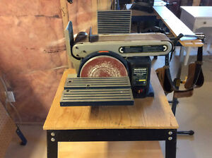 "Master craft 4"" x 36"" belt sander"