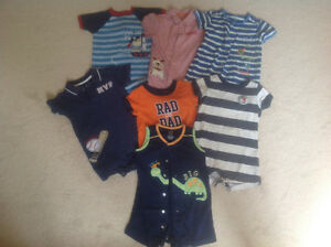 Summer one piece outfits for a boy!
