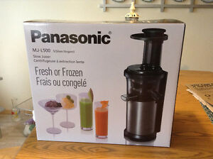 Panasonic mj l500 Slow Juicer