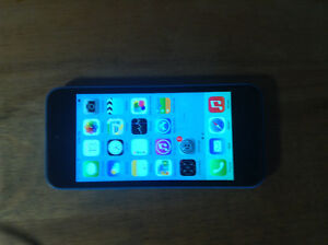 Apple iphone 5C Blue. Great shape. New screen $100 or best offer