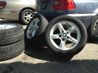 "BMW 3 Series 5 Spoke 16"" aluminum rims"