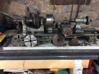 Metal working lathe