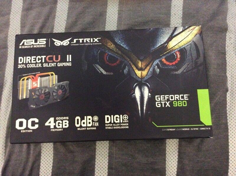 Asus gtx 980 strix