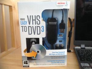 VHS a DVD / VHS to DVD converter