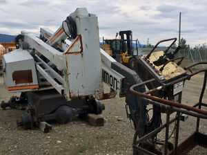 Simons AT60C Manlift /carry deck cranes / bucket truck. Prince George British Columbia image 2