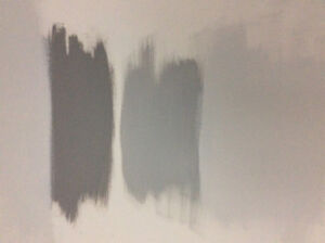 3 painter samples grey-receipt-colour codes-1 quart each