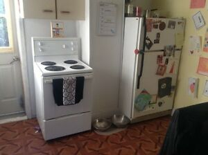 Fridge and stove for sale $50 each or $100 for both