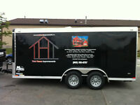 2011 Enclosed Cargo Trailer Is Mint.