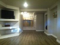 Newly renovated furnished suite in Lakeview