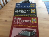 Haynes car manuals